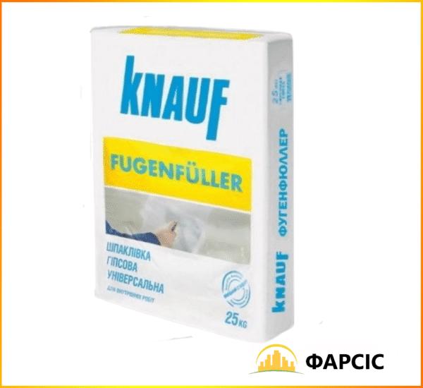 Шпаклівка гіпсова Фугенфюлер Кнауф, 25 кг