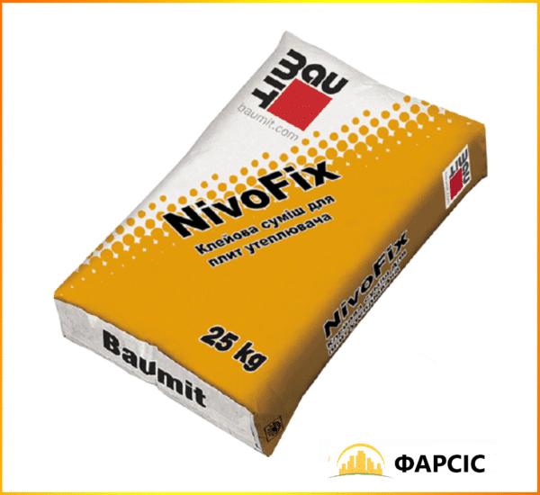Професійна клейова суміш Baumit NivoFix для теплоізоляції, 25 кг